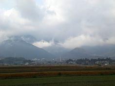 菰野町西菰野地区 雨上がり    平成25年2月2日撮影