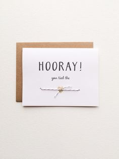 Die+Knoten-Karte+für+Braut+Bräutigam+rustikale+von+PrintSmitten