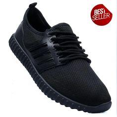 New York Sneakers Kurt Men's Rubber Shoes(BLACK) Rubber Shoes, Black Shoes, Adidas Sneakers, York, Shopping, Women, Fashion, Black Loafers, Moda