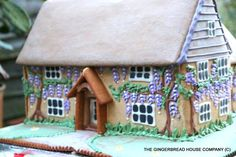 gingerbread house. I really like the wisteria -- nice touch.
