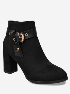 SHARE & Get it FREE | Buckle Strap Side Zipper Ankle BootsFor Fashion Lovers only:80,000+ Items • New Arrivals Daily • FREE SHIPPING Affordable Casual to Chic for Every Occasion Join Zaful: Get YOUR $50 NOW!