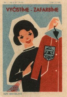 Soviet czechoslovakian #matchbox label To order your business' own branded #matchboxes or #matchbooks GoTo: wwwGetMatches.com or CALL 800.605.7331 to get the process started Today!