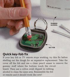 Key-Fob Fix                                                                                                                                                      More