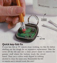 Key-Fob Fix                                                                                                                                                      More