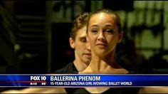 15-years-old Arizona girl wows the ballet world. -  Gisele Bethea