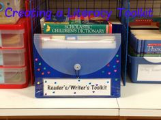 Creating a Reader's/Writer's Toolkit - one of the best I have seen. A great tool for teachers with great benefits for students!