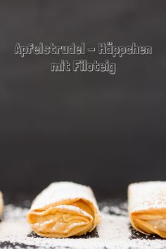 Apfelstrudelhäppchen mit Filoteig