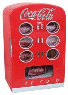 Coca Cola KBC22 Retro Vending Fridge
