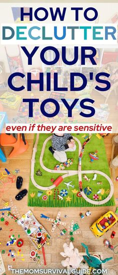 Learn HOW TO DECLUTTER TOYS. It's probably the biggest thing you want to tackle as a mom. Decluttering your child's toys can be difficult or easy depending on their temperament. What if you have a sensitive child? What if your child is sentimental? It can make the job more difficult to do, but you've still got to get it done! Learn how to sort through and organize child toys so that you don't have such messy room. These tips will help you declutter kids room even when overwhelmed! Kids Bedroom Organization, Toy Organization, Happy Mom, Happy Kids, Diy Cleaning Products, Cleaning Hacks, Decluttering Ideas Feeling Overwhelmed, Find A Babysitter, Organize Kids