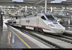 RailPictures.Net Photo: Renfe Bombardier Talgo 130 at Madrid, Spain by Steve Patterson