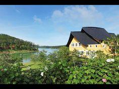 Binh An Village Dalat Resort  Làng Bình An, Hồ Tuyền Lâm Đà Lạt  Bình An Resort, một khu nghỉ dưỡng xinh xắn được xây dựng ven hồ Tuyền Lâm Đà Lạt, là một chuỗi công trình kiến trúc kết hợp tinh tế hài hoà giữa kiến trúc cổ điển Pháp và những tinh hoa kiến trúc chắt lọc từ văn hoá dân gian địa phương.