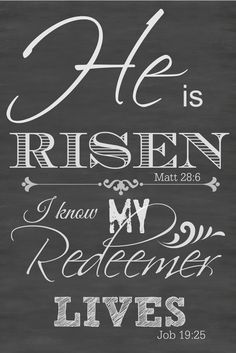 HE IS RISEN FREE PRINTABLE - StoneGable