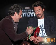 """Image detail for -The Avengers - Science Bros [Tony  Bruce friendship] #3: """"Shall we ..."""