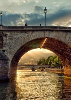 River Seine, Paris, France ~ #CheatOnGreek  #Contest