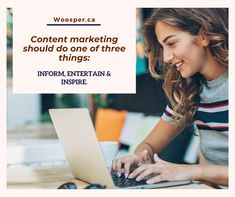 Content marketing should do one of three things: Inform, Entertain & inspire. Online Marketing Services, Digital Marketing Strategy, Inbound Marketing, Content Marketing, Internet Marketing, Social Media Marketing, Digital Campaign, Competitive Analysis