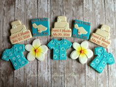 Hawaiian Wedding Cookies by SweetCBakeShop on Etsy, $42.00