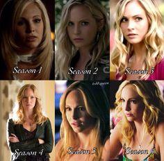 i like caroline wayyy better after she became a vampire!