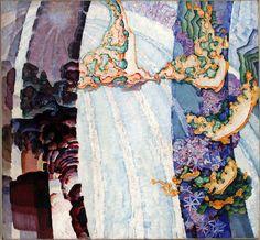 Frantisek Kupka - Cosmic Spring II, 1911-1912, oil on canvas