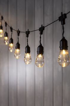 Create the perfect outdoor setting with our solar festoon lights! Brighten up your courtyard or swag over outdoor seating for al fresco dining. Hallway Lighting, Bar Lighting, Outdoor Lighting, Bottle Garden, Garden Bar, Outdoor Seating Areas, Garden Seating, Garden Projects, Garden Ideas