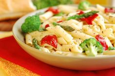 Pasta Primavera  to trim junk-in-the-trunk by Dr Oz