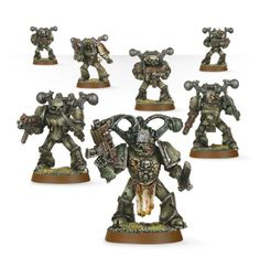 Games Workshop Plague Marines - my advice : buy standard chaos space marines and make your own Plague Marines !