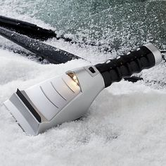 Heated Ice Scraper - Take my money!