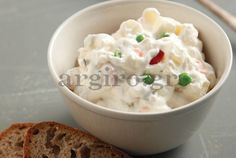 Ρώσικη σαλάτα Food Categories, Salad Recipes, Mashed Potatoes, Food To Make, Recipies, Vegan, Ethnic Recipes, Greek, Whipped Potatoes
