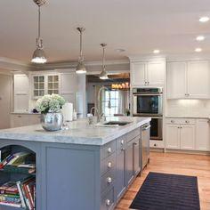 Classic Coastal Colonial Renovation - the Ultimate Island - traditional - kitchen - newark - Michael Robert Construction
