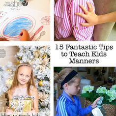 15 Fantastic Tips to Teach Kids Manners
