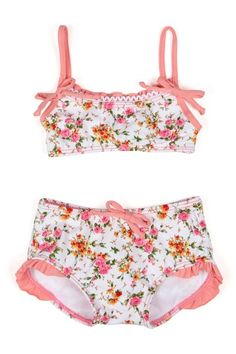 So cute girls bathing suit, but way over priced.  HauteLook