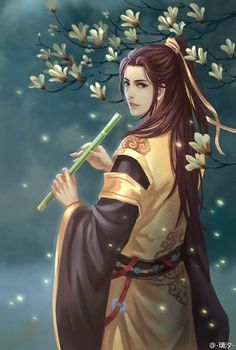 Mỹ nam cổ trang Manga Anime, Anime Guys, Pictures To Draw, Art Pictures, Character Inspiration, Character Art, Legend Stories, Devian Art, Fantasy Art Men