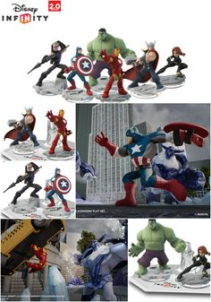 Disney Infinity: Marvel Super Heroes unveiled in Hollywood, California // #DisneyInfinity