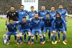 Romania 1-1 Greece | 19-11-2013. Greece: Karnezis, Tziolis, Sokratis, Mitroglou, Holebas, Siovas. Karagounis, Torosidis, Salpingidis, Maniatis, Samaras.