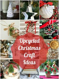 Upcycled Christmas Craft Ideas