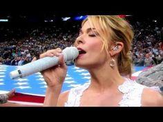 10 Best Singing The National Anthem Images Singing The National Anthem National Anthem Singing