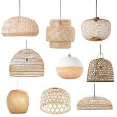 De mooiste hanglampen from bamboe of riet - Shopinstijl.nlHaal de zomer in huis met a hanglamp van bamboe, advised of rotan. Get 9 zomerse hanglamps here in jouw huis of op jouw terras! Home Interior, Interior Design Living Room, Living Room Decor, Bedroom Decor, Dining Room Lighting, Dining Room Table, Kitchen Lighting, Dining Rooms, Dining Area