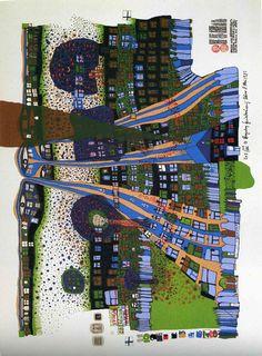 Friedensreich Hundertwasser http://www.paintings-art-picture.com/