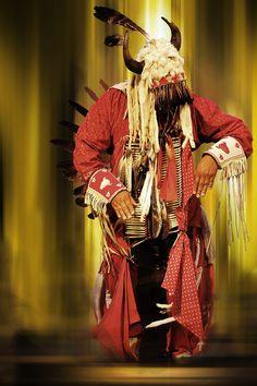 Native Indian Cherokee Dancer