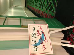 The Greenbrier. It's sleepy time...