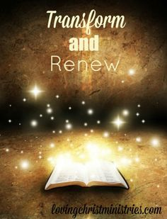 31 Days of Devotions | Day 18 | Transform and Renew - Do you conform or are you working to transform and renew your mind? It's definitely difficult to set the world aside and focus on God.