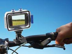 Câmera Filmadora Esportiva HD Vivitar DVR785HD 5MP - Conexão Mini USB com Caixa Estanque com as melhores condições você encontra no Magazine Voceflavio. Confira!