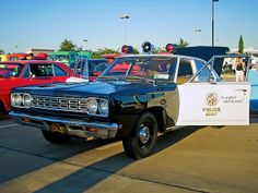 LAPD 1968 Plymouth Belvedere