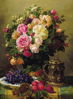 Rose bouquet -Jean-Baptiste Robie