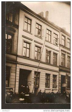 Germany, photo postcard - echte photographier - to identify - Carl Hamischer ? Maler - Gustav Walter