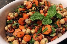 Moroccan Barley Salad - bites out of life