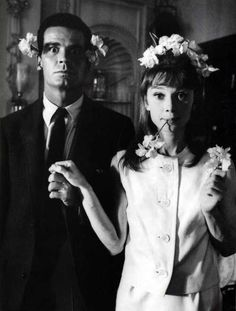 James Garner and Audrey Hepburn | Rare and beautiful celebrity photos