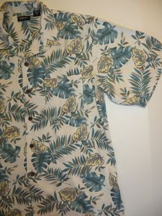 Vintage Hawaiian Shirt Vintage Men's Shirt Loop by TomCatBazaar