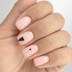 21 Terrific Nude Nail Design Ideas You Can't Pass By ❤ Hand Painted Nail Art for More Fun picture 2 ❤ We showed you nude nail design in completely different light. It is your choice to pick the best one from the designs that are all extraordinary gorgeous