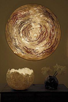 Nuno felt lamp 2013, Judith Byberg
