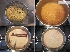 Quinoa con leche Quinoa, Tasty, Meals, Health Desserts, Dessert Recipes, Breakfast, Evaporated Milk, Meal, Yemek